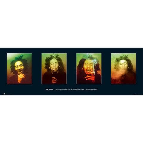 Bob Marley Faces - Midi Poster - 30.5cm x 91.5cm