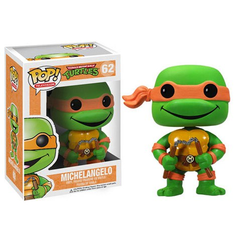 Teenage Mutant Ninja Turtles Michelangelo Funko Pop! Figuur
