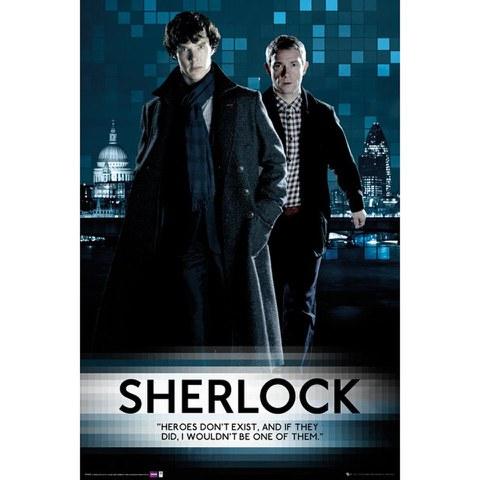 Sherlock Walking - Maxi Poster - 61 x 91.5cm