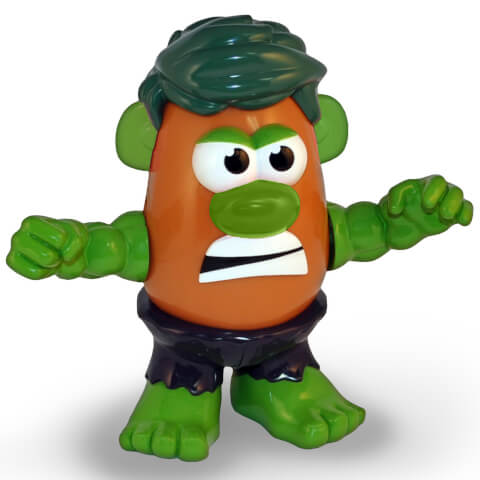 Marvel Avengers Incredible Hulk Mr. Potato Head