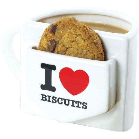 Tasse I Love Biscuits - Avec Compartiment