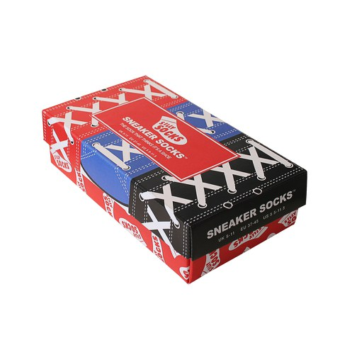 Silly Socks 3 Pairs Gift Box - Men's Sneakers - 5-11