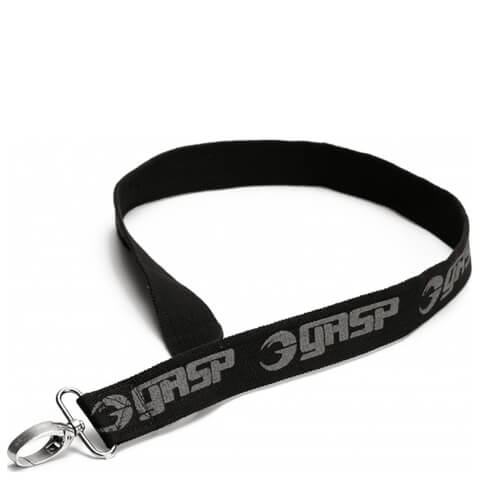 GASP Canvas keyband - Black