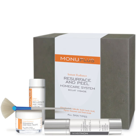 MONUPLUS Resurface and Peel Homecare Kit