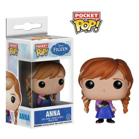Disney Frozen Anna Pocket Pop! Vinyl Figuurtje