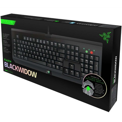 Razer Blackwidow 2014 – Expert Mechanical USB Gaming Keyboard