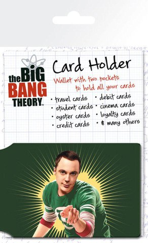 Porte-Cartes Bazinga The Big Bang Theory