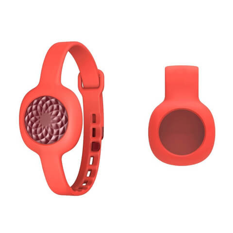 Jawbone UP Move Wireless Activity and Sleep Tracker - Clip & Strap Bundle - Ruby Rose