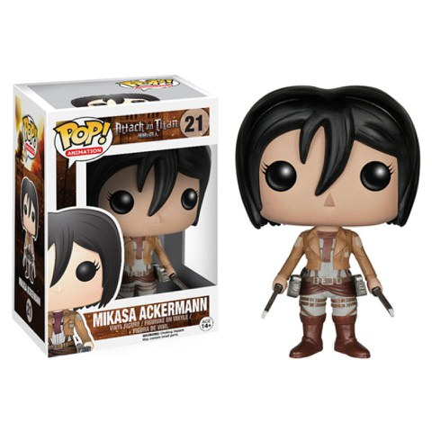 Attack on Titan Mikasa Ackerman Pop! Vinyl Figure
