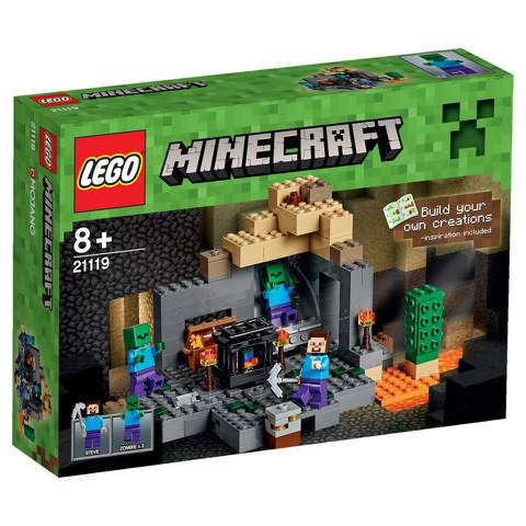 LEGO Minecraft: The Dungeon (21119)