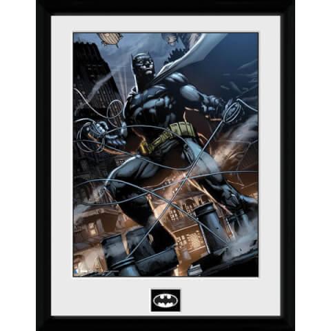DC Comics Batman Comic Rope - Framed Photographic - 16 x 12inch