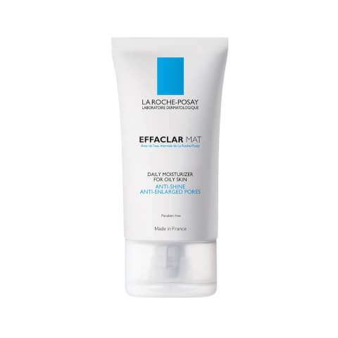 La Roche-Posay Effaclar Mat Oil-Free Facial Moisturizer for Oily Skin to Mattify Skin and Refine Pores, 1.35 Fl. Oz.