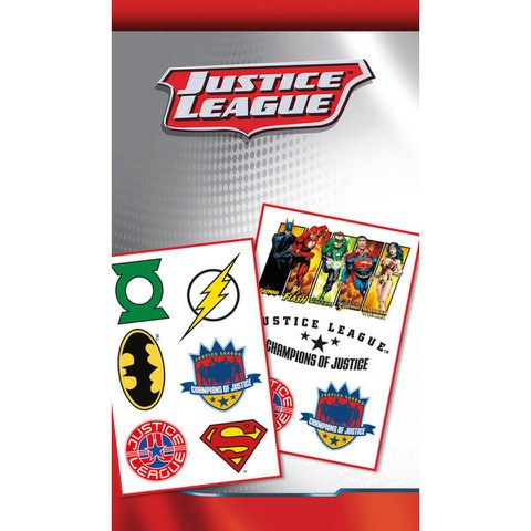 DC Comics Justice League Mix - Tattoo Pack