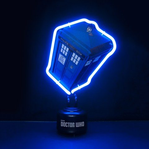 Tardis Doctor Who Mini Neon