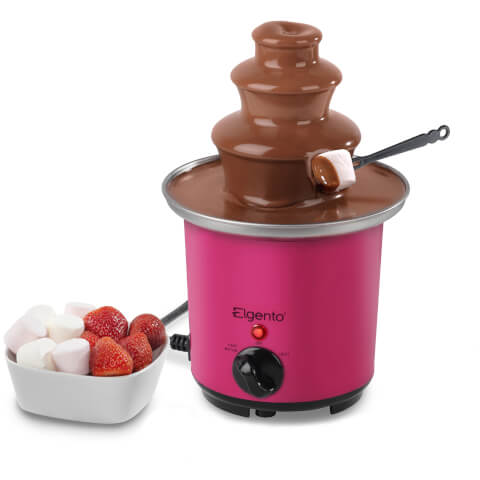 Elgento E26005 Mini Chocolate Fountain - Pink