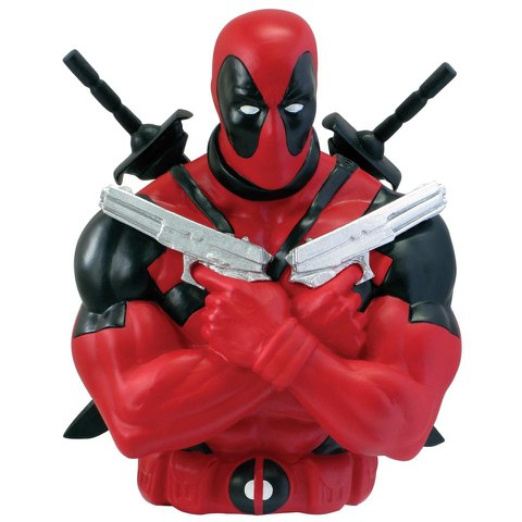 Marvel Avengers Deadpool Bust Bank