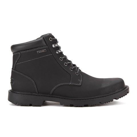 Rockport Men's Redemption Road Plaintoe Lace Boots - Black