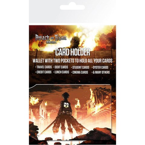 Attack on Titan Key Art - Card Holder