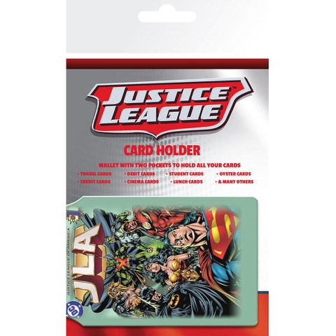Porte-Cartes Justice League - DC Comics