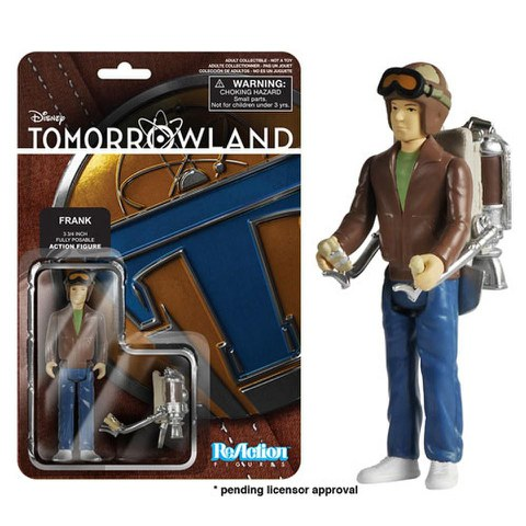 ReAction Disney Tomorrowland Young Frank Walker 3 3/4 Inch Action Figure