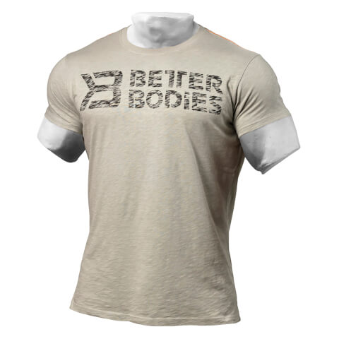 Better Bodies Symbol Printed T-Shirt - Light Grey
