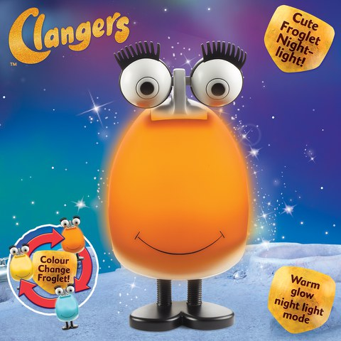 The Clangers - Mood Froglet Night Light