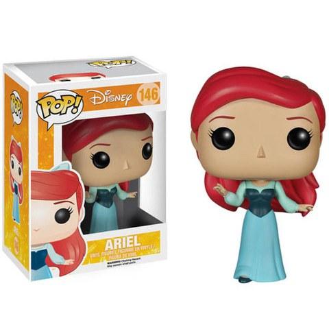 Disney The Little Mermaid Ariel Blue Dress Pop! Vinyl Figure