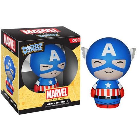 Marvel Vinyl Sugar Dorbz Vinyl Figur Captain America