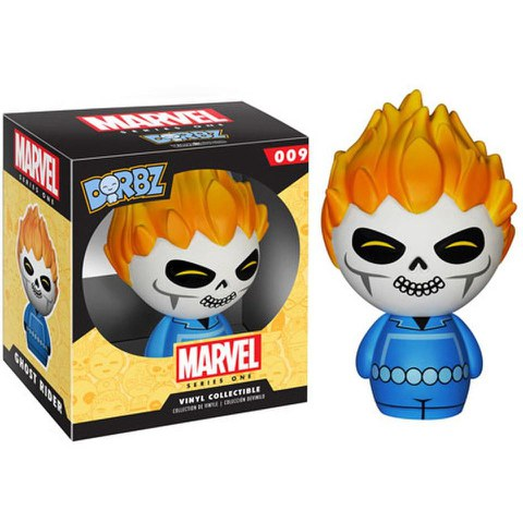 El Motorista Fantasma Marvel Vinyl Sugar Dorbz Action Figure