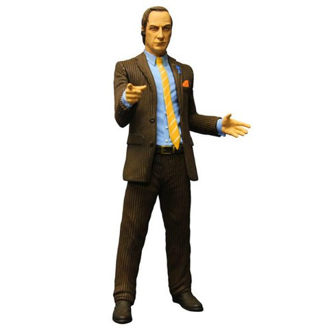 Breaking Bad Saul Goodman Brown Suit Previews Exclusive 6 Inch Action Figure