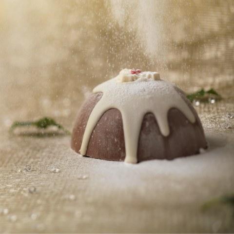 Pudding de Noël en Chocolat