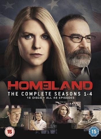 Homeland - Season 1-4