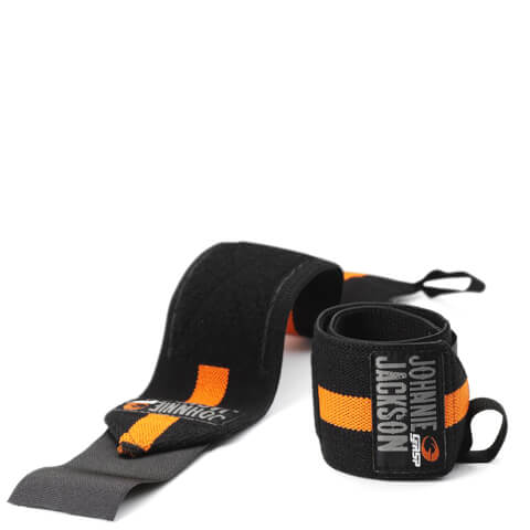 GASP Power Wrist Wraps - Black/Flame