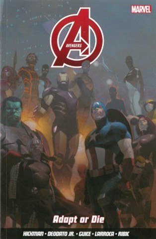Avengers - Volume 4: Adapt or Die Graphic Novel