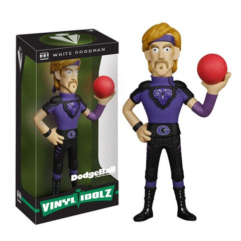 Dodgeball White Goodman Vinyl Sugar Idolz Figure