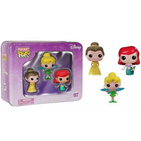 Pack 3 Figuras Pocket Mini Pop! Vinyl Disney Goodies