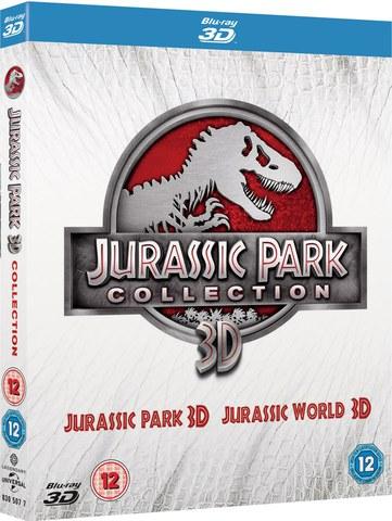 Jurassic Park 3D + Jurassic World 3D
