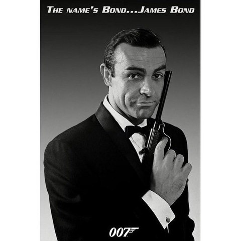 James Bond 007 The Names Bond - 24 x 36 Inches Maxi Poster