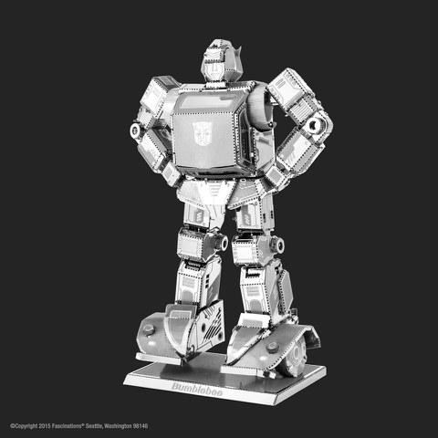 Maquette Métal 3D Transformers Bumblebee