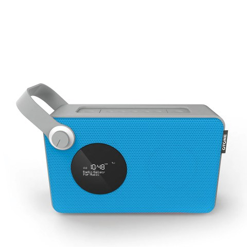 Otone BluMotion Portable Bluetooth DAB Radio - Blue