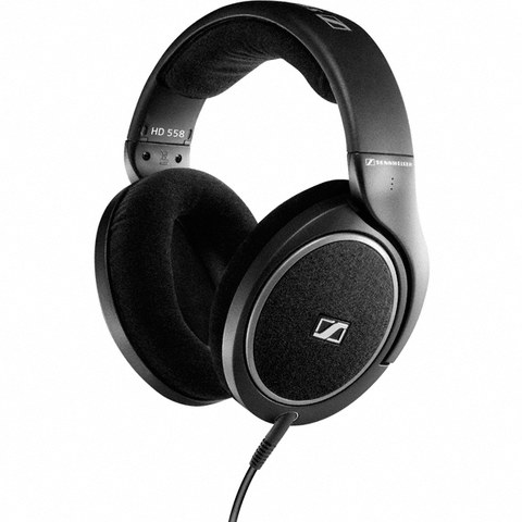 Sennheiser HD 558 Over Ear Headphones - Black