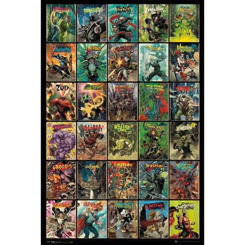 DC Comics Forever Evil Compilation - 24 x 36 Inches Maxi Poster