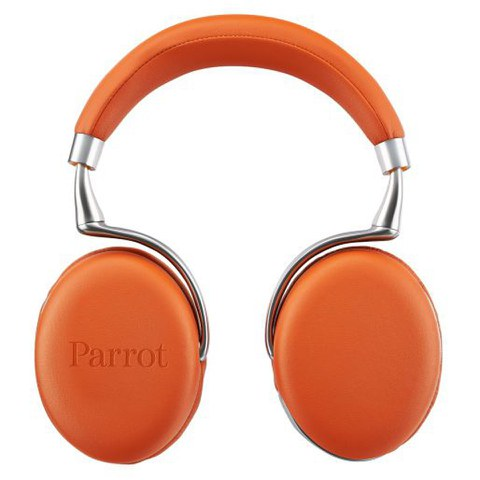 Parrot Zik 2.0 by Philippe Starck Wireless Touch Sensitive Headphones - Orange