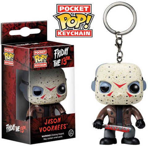Friday The 13th Jason Voorhees Pocket Pop! Vinyl Key Chain