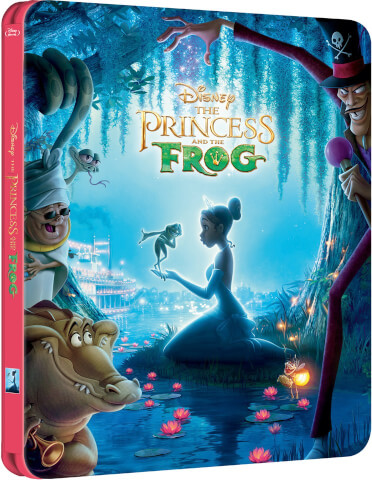 The Princess and the Frog - Zavvi Exclusive Limited Edition Steelbook