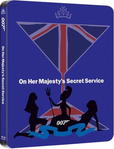 On Her Majestys Secret Service - Zavvi Exclusive Limited Edition Steelbook (UK EDITION)