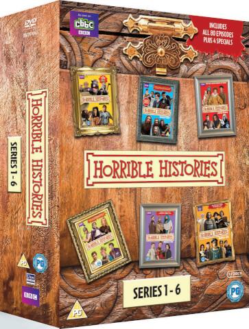 Horrible Histories Box Set - Series 1 - 6 & Specials