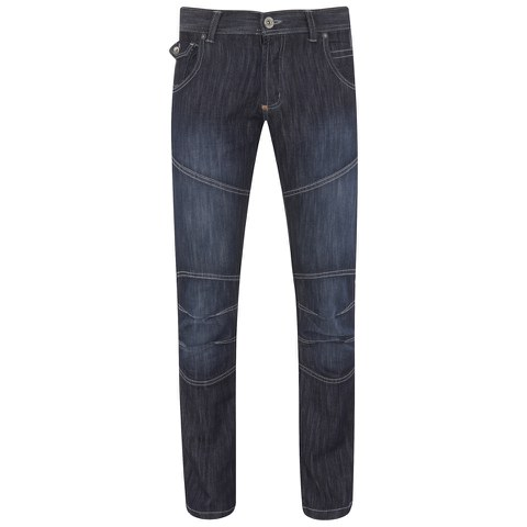 Crosshatch Men's Newport Jeans - Dark Wash