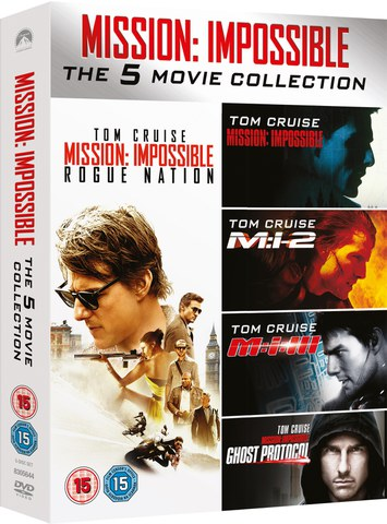 Mission Impossible - 1-5 Boxset