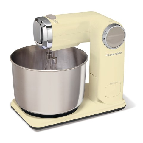 Morphy Richards 400403 Folding Stand Mixer - Cream
